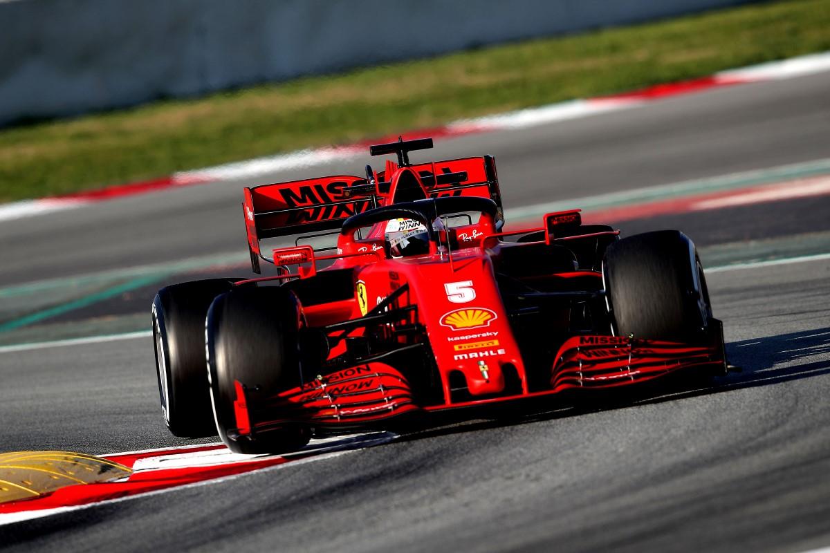Sebastian Vettel chooses name for his 2020 Ferrari F1 car