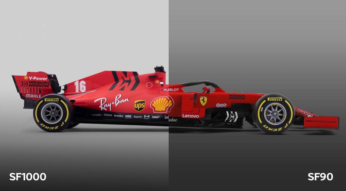 F1 Reader Sliders Compare The Ferrari Sf90 And Sf1000
