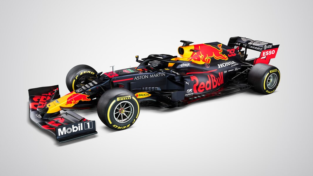 Red Bull Unveils RB16 2020 Formula 1 Race Car