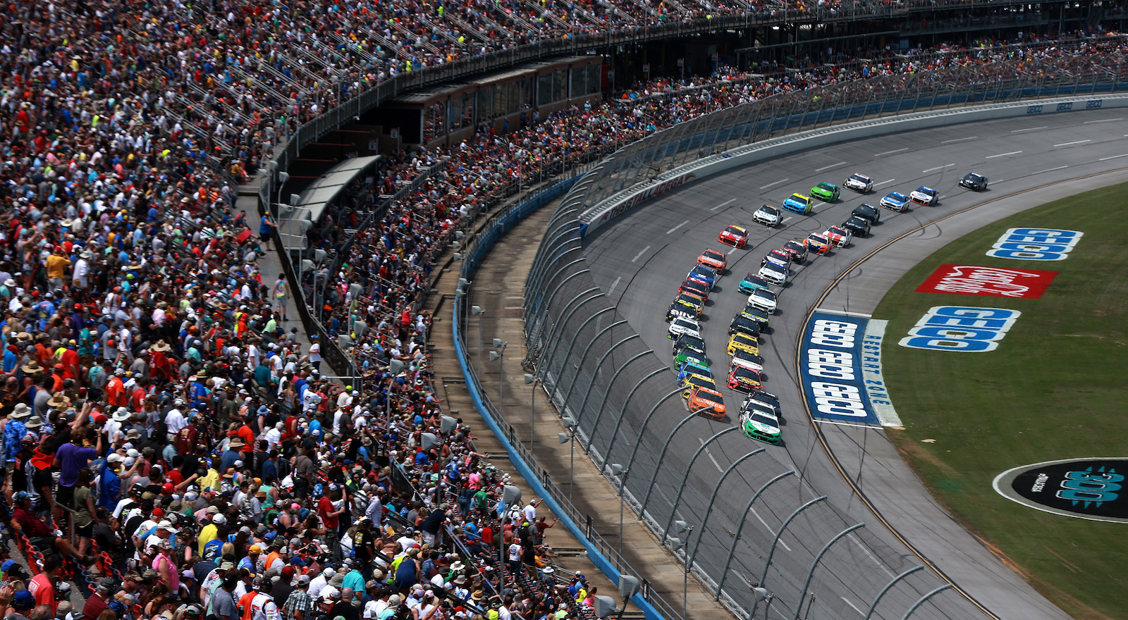 NASCAR wants to run postponed races before playoffs