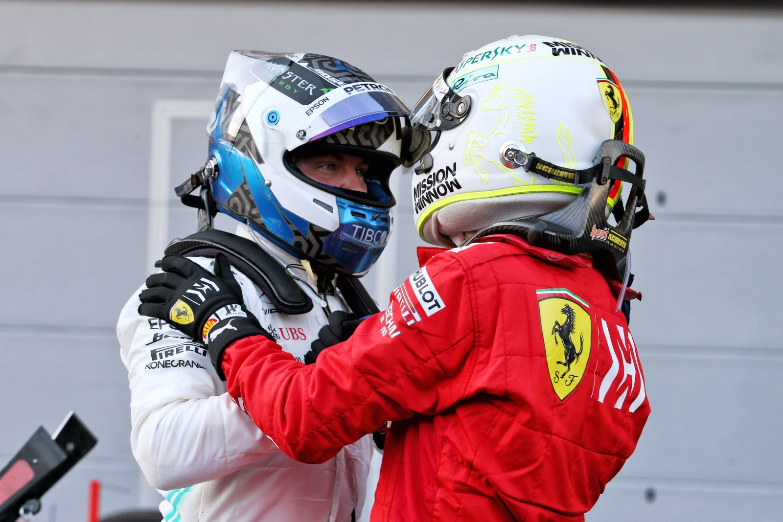 Mercedes tell Bottas the team are 'not considering' Vettel