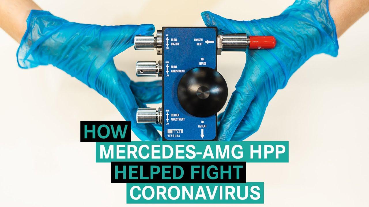 Video How Mercedes Amg Hpp Helped Fight Coronavirus Motorsport Week
