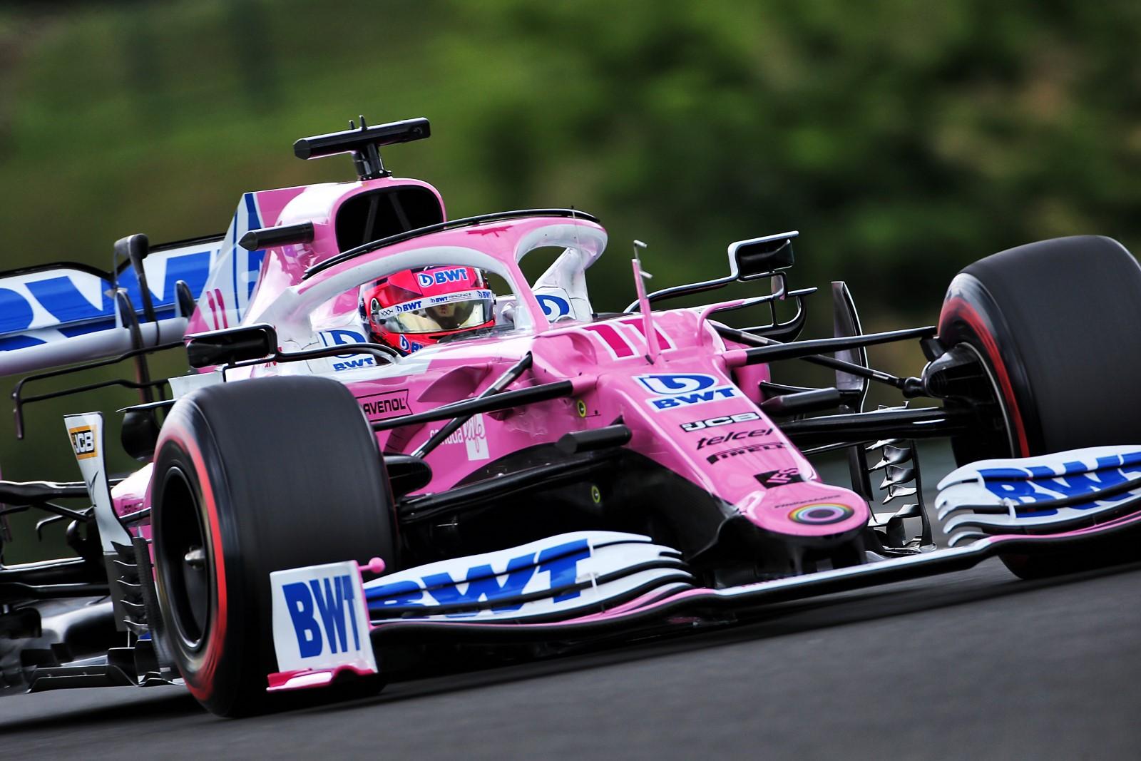Perez Felt Dizzy During Hungarian Gp Qualifying Motorsport Week