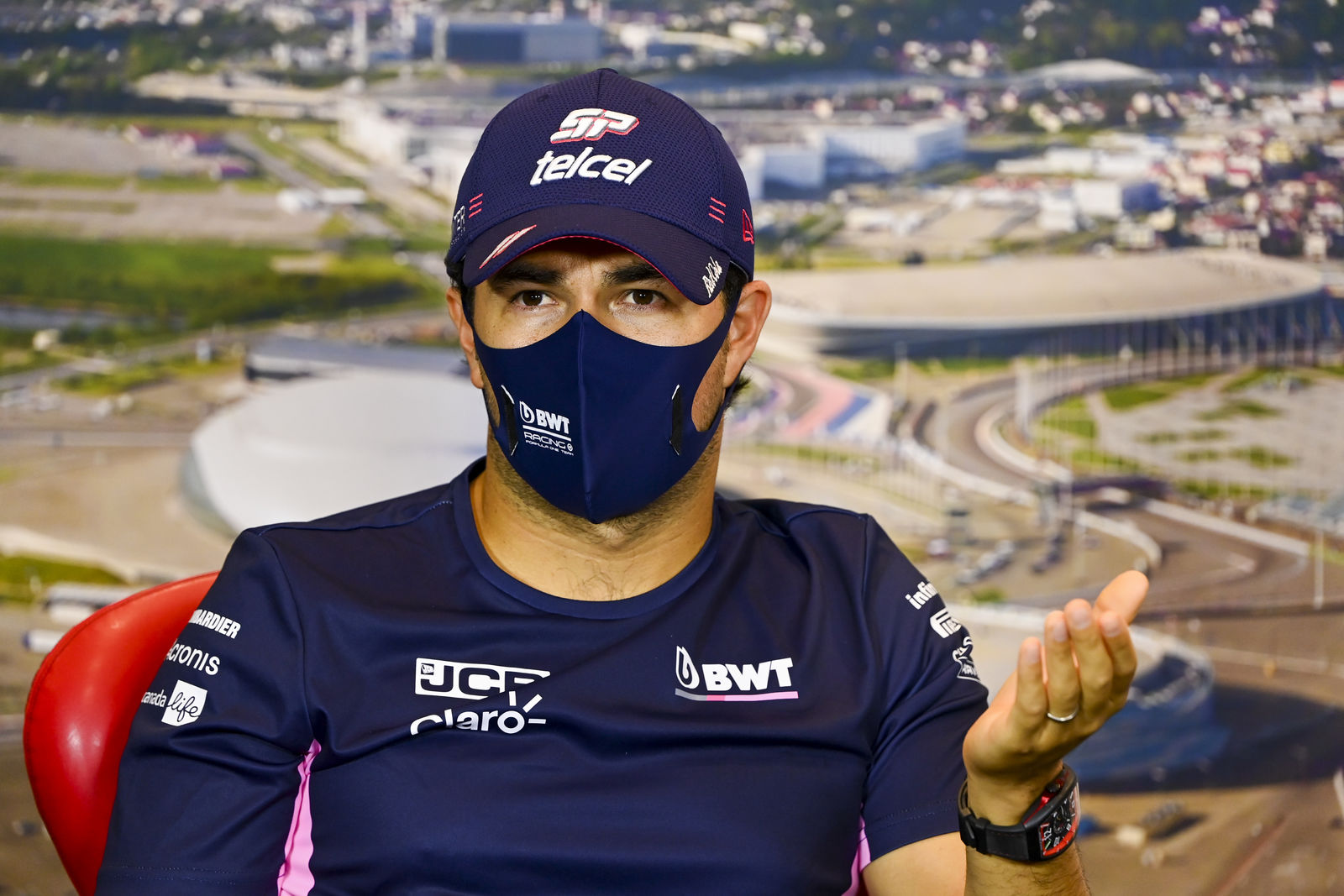 Perez clears the air after saying some in Racing Point 'hide things'