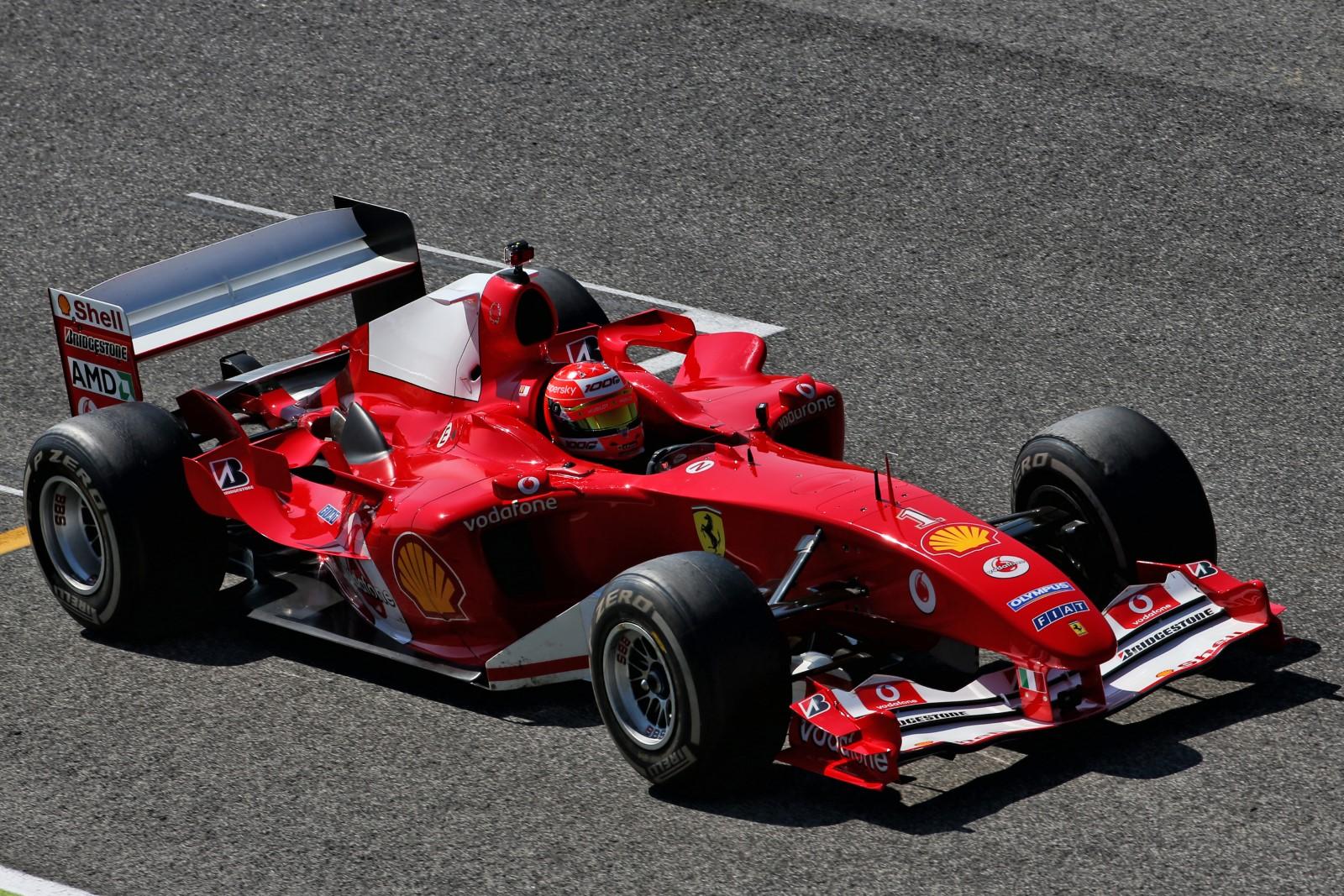 Schumacher Demonstrates Father S F2004 At Mugello Motorsport Week