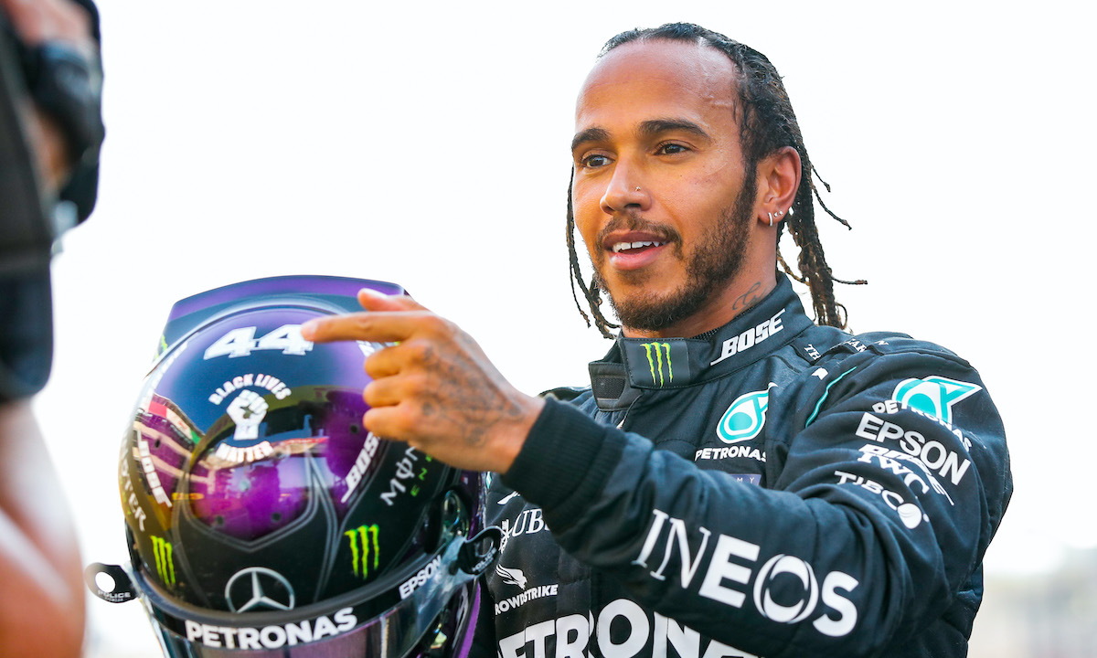 F1 Champion Lewis Hamilton Vows To Boost Diversity In Motorsport