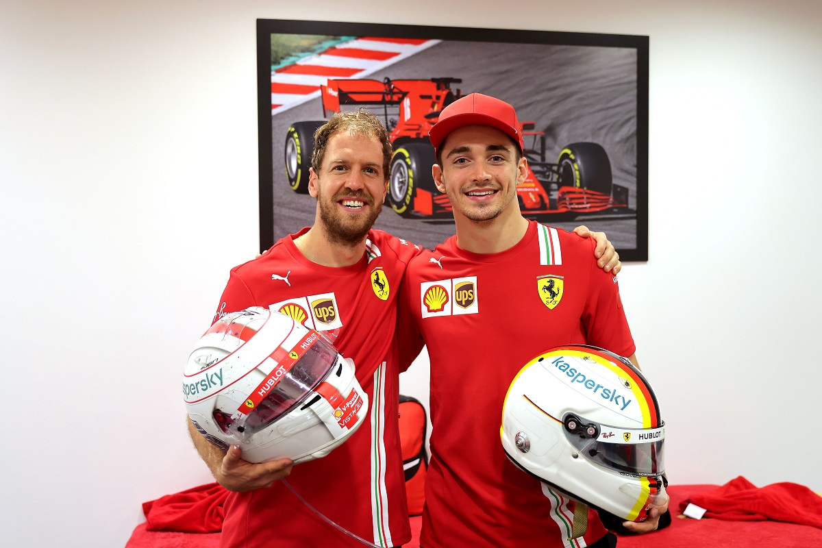 Leclerc explains Vettel Abu Dhabi GP helmet tribute gesture