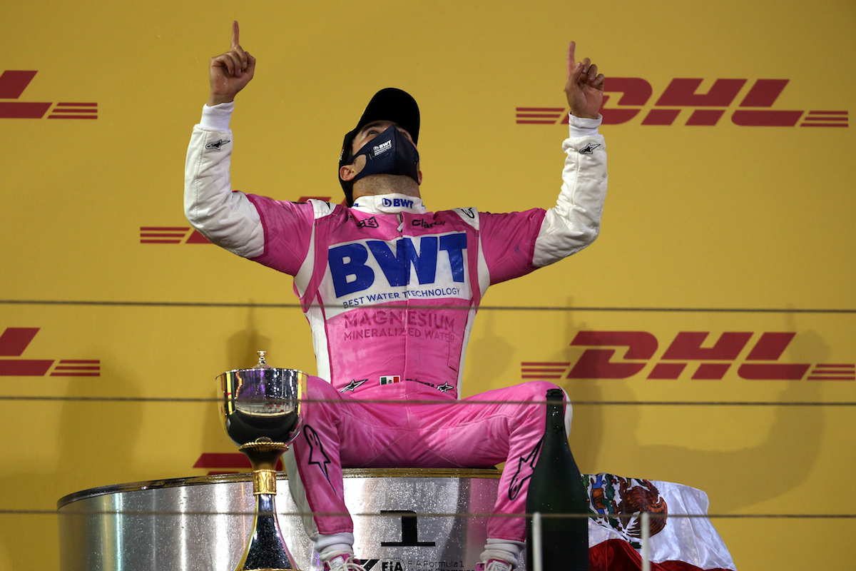 Sergio Perez goes from last to first in astonishing Sakhir GP