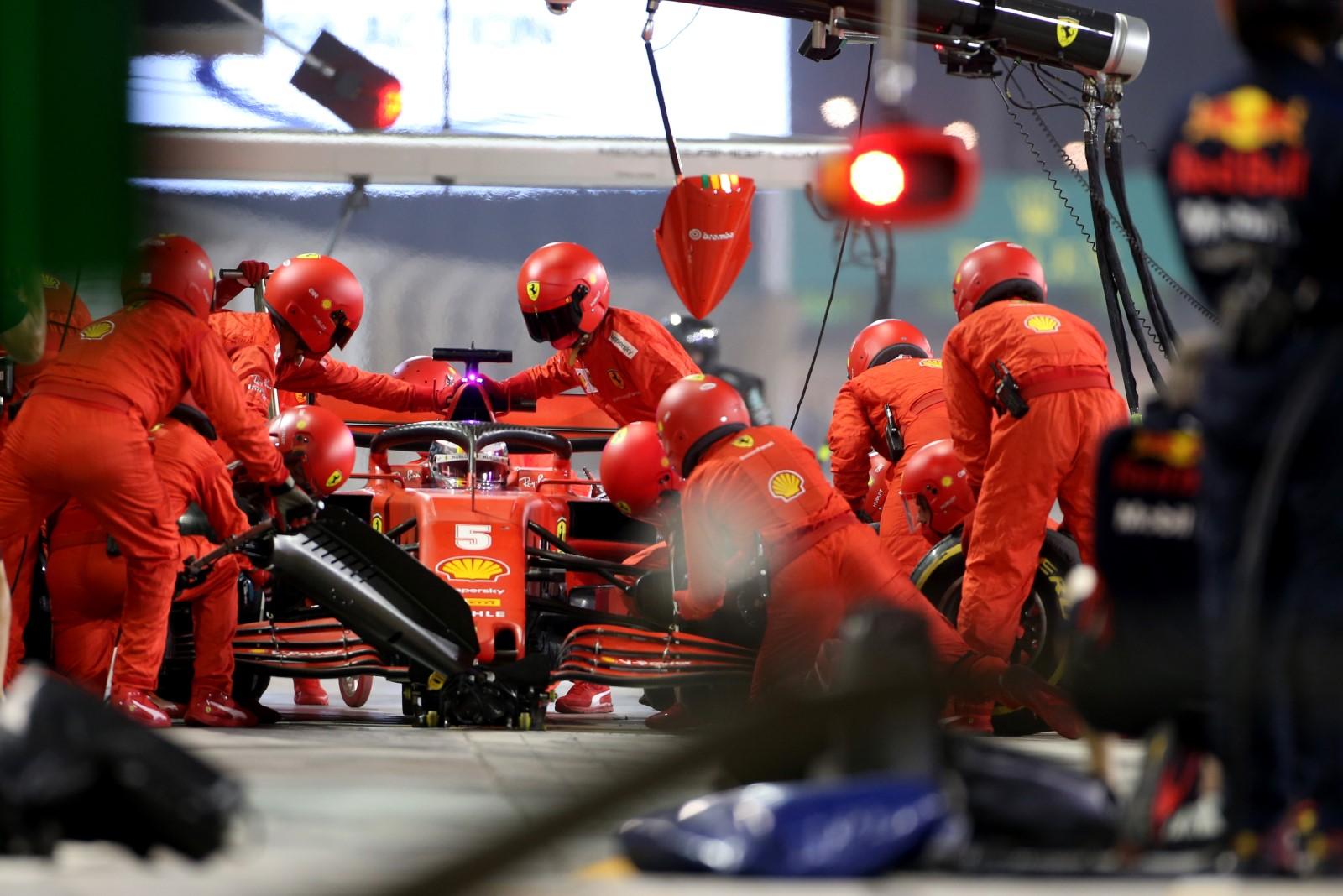 Vettel bids a musical adieu to Ferrari