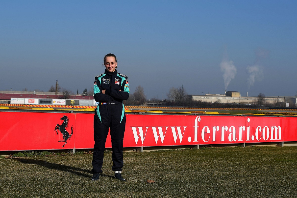 16-year-old Maya Weug becomes Ferraris first female academy driver