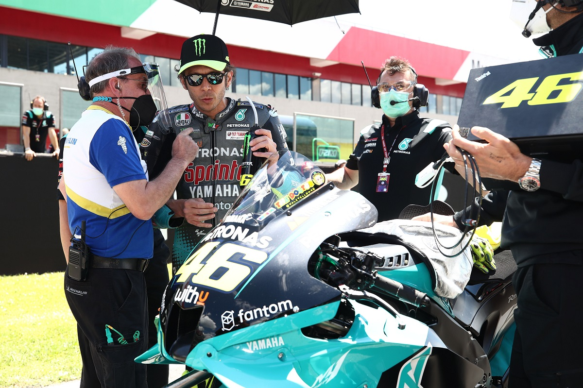 Rossi More Optimistic For Barcelona Following Best 2021 Result At Mugello Motorsport Week
